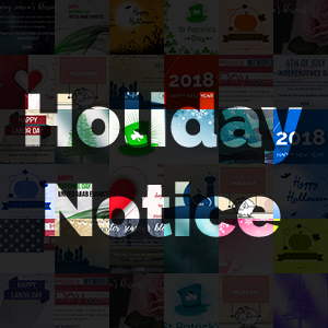 NopCommerce Holiday Notice V2