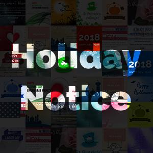 NopCommerce Holiday Notice V2